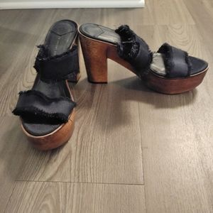 10 Crosby Derek Lam platform shoes sz 9 M